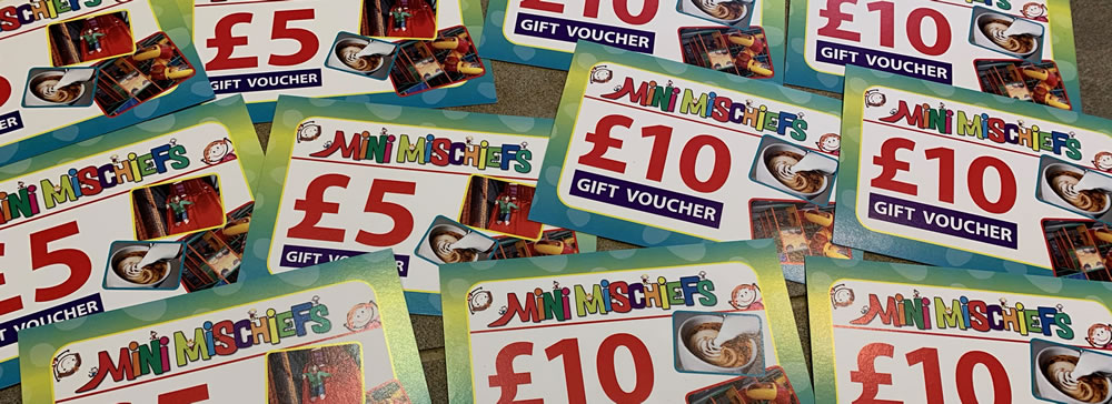 Mini Mischiefs Gift Vouchers